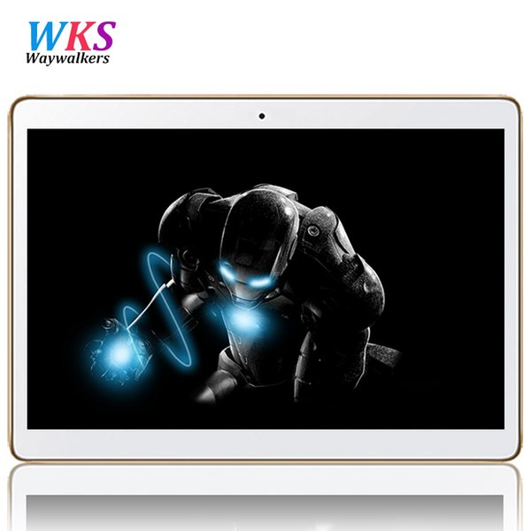 Wholesale- Waywalkers 4G LTE Octa Core MTK6592 Tablet PC 10.1 inch 1280*800 Dual Camera 5.0MP Android 5.1 GPS WCDMA Phone Call 4GB/64GB