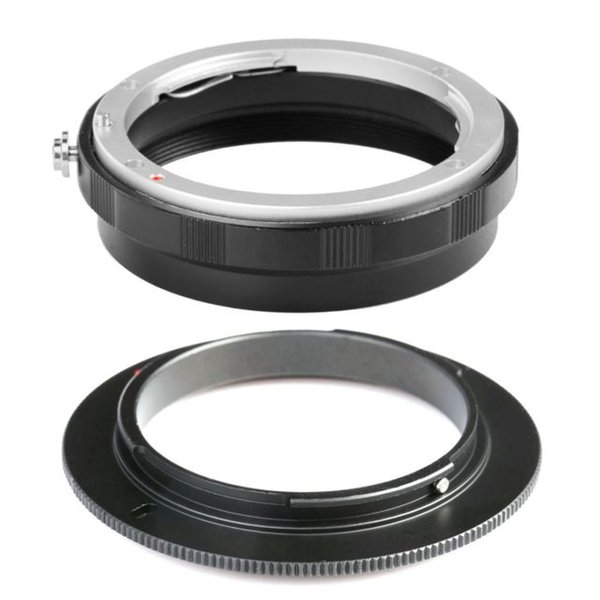 Brand COMLYO Camera Lens Adapter AI-52mm Macro Reverse Adapter Rear Lens Protection Ring For Nikon F AI AF Mount 3M Lens Adapter in Stock