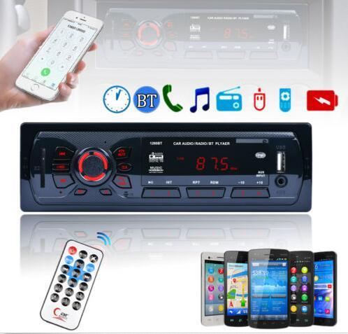best selling In-Dash Bluetooth Car Stereo FM Radio MP3 Audio Player Aux IN Receiver SD USB