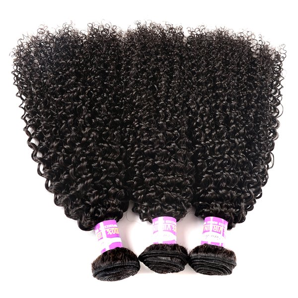 Kinky Curly Peruvian Virgin Hair Curly Wave Bundles Remy Hair 8-28 inch Peruvian Natural Color 100 Human Hair Weave Extensions Straight Deep