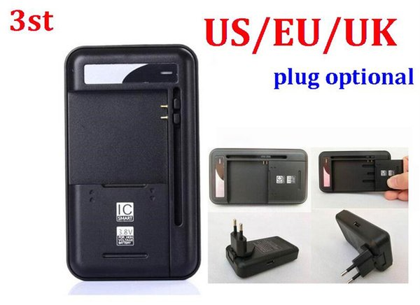 100pcs/lot* 3st 2 in 1 Multi-functional Mobile Universal Battery Charger dock YIBOYUAN For Cell Phones USB-Port