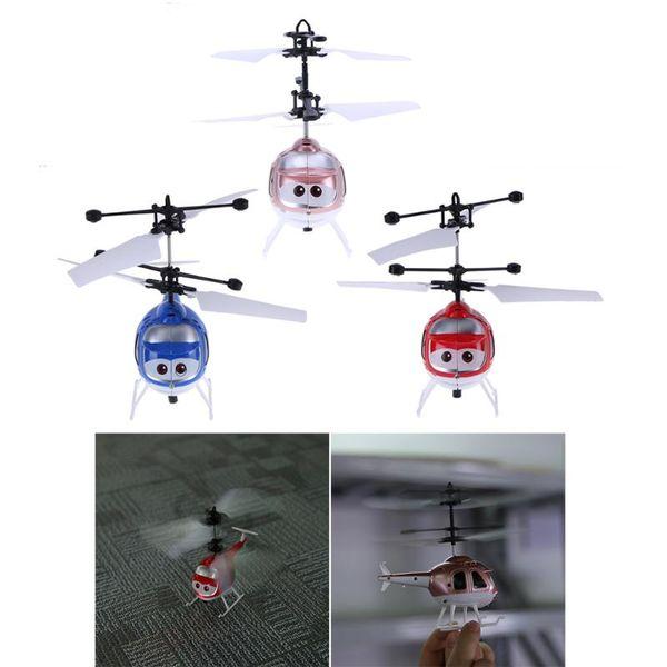 Control remoto Pequeños Aviones de Inducción Niños Creativos Volando Juguetes Niños Niños Helicópteros Regalos de Juguete