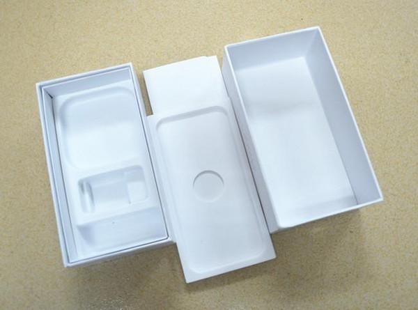 Scatola bianca di imballaggio del telefono vuota con 100 pezzi per 4,7 pollici, 5,5 pollici