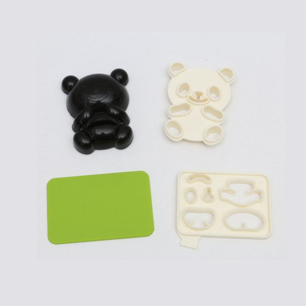 3d silicone moulds panda shape Cupcake Molds christmas Sandwich Biscuit Cupcake Pastry Paste cake decorating supplies kichen gadgets 4pcs