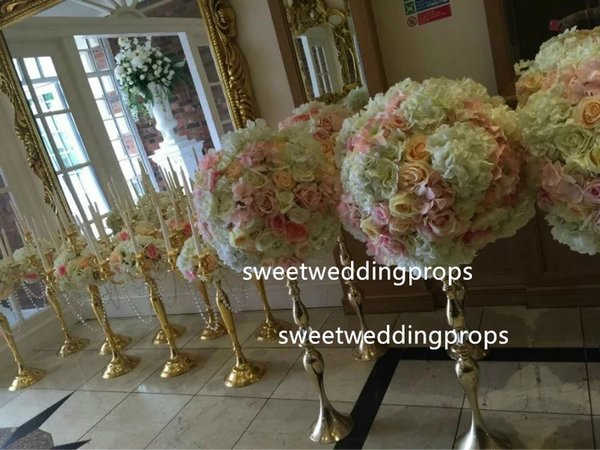 No Flowers Including Amazing Crystal Acrylic Diamond With Mental Iron Wedding Centerpiece Kids Party Balloons Kids Party Boxes From Sweetweddingprops