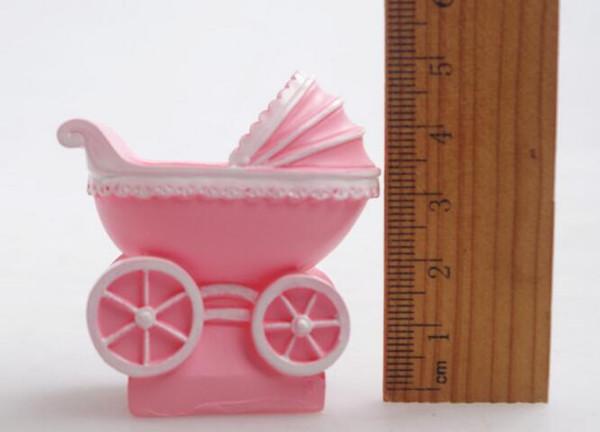 3D bébé poussette Moule en silicone Anniversaire Décoration Gâteau au chocolat Moules BL