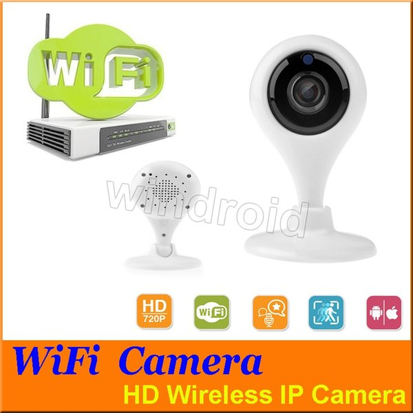 HD Mini Wifi IP Camera Wireless 720P Smart P2P Baby Monitor Network CCTV Security Camera surveillance camera Mobile Remote Cam Free shipping