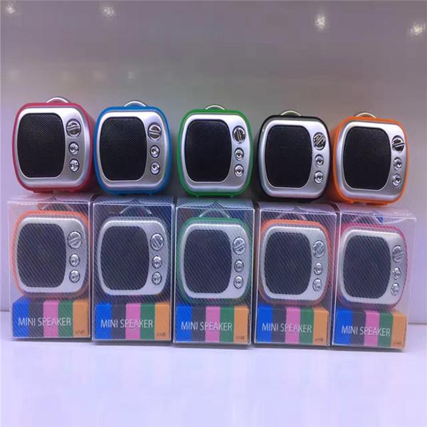 Factory Direct Wholesale High-end Quality Card Bluetooth Speaker TV MINI Speaker U Disk Subwoofer Super Bass Free Shipping