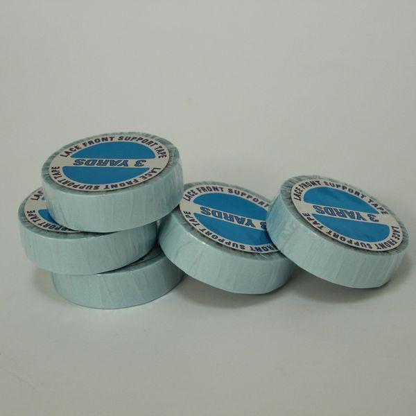 1 stück / paket Hohe qualität Spitze perücke klebeband für haarverlängerung double sider klebeband Kostenloser versand menschliches haar mit super tape