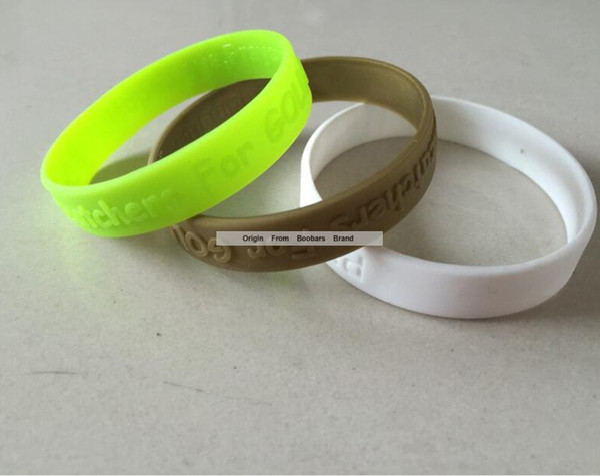 Hot New Men Women Fashion Sport Wristband Logo Embossed Cheap Promotion Silicone Wristband