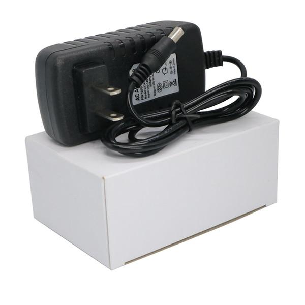50PCS 12V 3A AB ABD İngiltere AU Tak AC DC Güç Adaptörü Şarj Tabletler için Güç Kaynağı Led Şerit ışık Ücretsiz Gemi