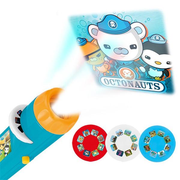 Nouvelle promotion de jouets !!! Abs Sous-marin Projecteur Lampe de Poche Étoile Ciel Projecton Lampe Coax Bébé Sommeil Led Lumineux Jouets Cadeaux D'anniversaire