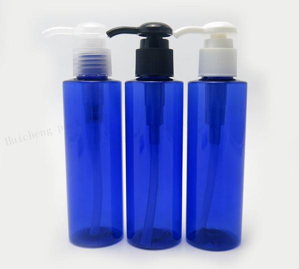 30 X 150ml Blue Pet Shampoo Bottle 5oz blue plastic bottle with lotion pump