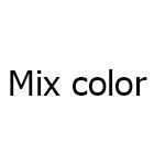 cor da mistura