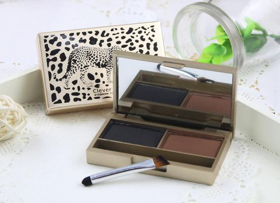 Perfect Clever Cat Eye Shadow 2 Color Palette Makeup Eye Shadow Kit High Quality Long Lasting Eye Shadow Beauty Makeup Popular Choice