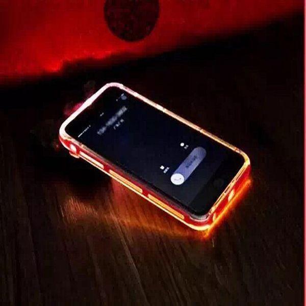 For Iphone 7 Luminous Called Sense Led Flash Light Clear Calling ...
