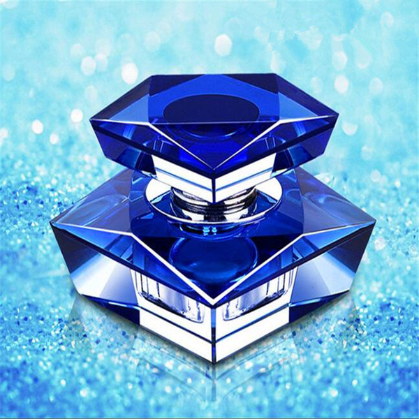 best selling Fashion Crystal Car Perfume Fragrance Bottle Seat Ornament Refillable Office Air Freshener Home Decor