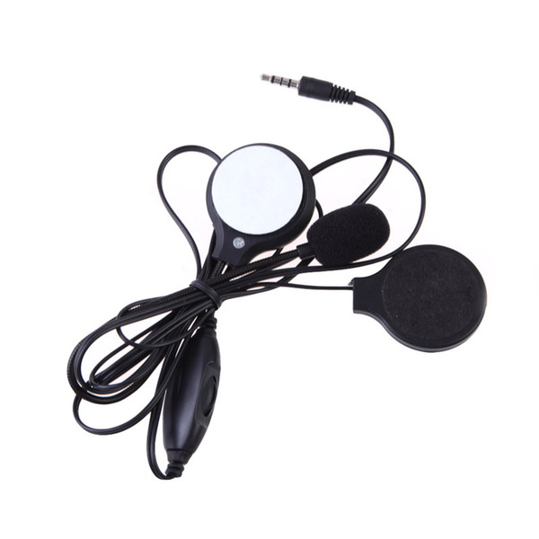 Wholesale- MotoMotorbike Motorcycle Stereo Earphone Headset Sport Stereo For MP3 MP4 GPS Phone Music Device