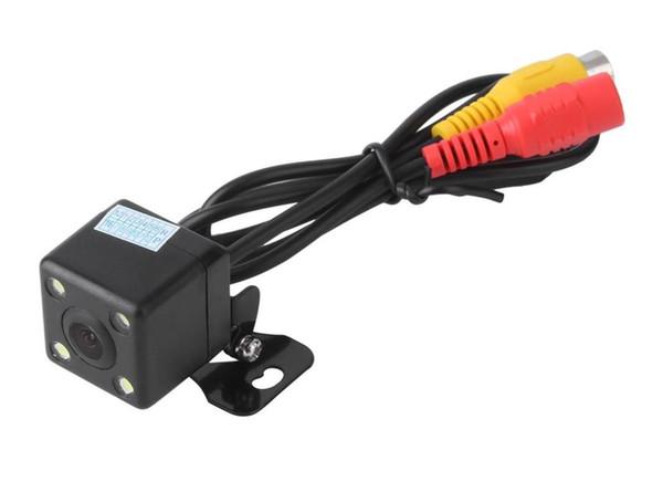 Yeni Kare Şekli DVR Oto Park Yardımı Yeni 4LED Gece Görüş Araba CCD Dikiz Kamera Araba Video Katlanabilir Monitör Camera170 Derece