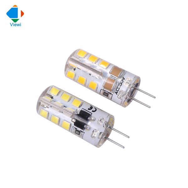 10x G4 led lights AC/DC 12v 110v 220v corn bulb lamp SMD2835 24leds 360 degree silicone mini energy saving bulbs white lampadine