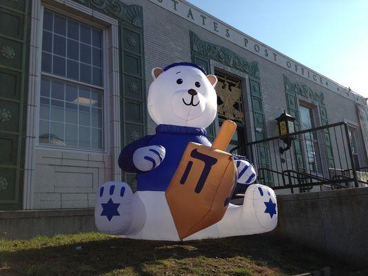 2019 Outdoor Lawn Hanukkah Inflatable Decorations Inflatable Bear From Brandaceairart 331 66 Dhgate Com
