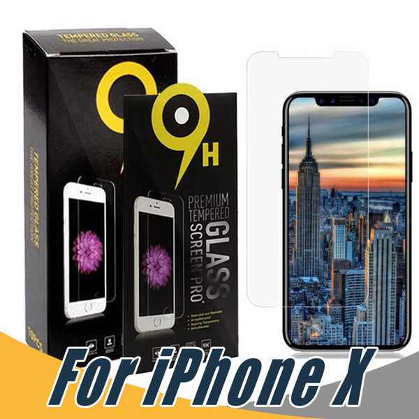 top popular For iPhone 12 11 Pro Max Tempered Glass 2.5D Screen Protector Film For iPhone X Xr Xs Max 8 7 6S Plus Huawei P30 lite Mate 20 A20 A30 A50 j7 2020