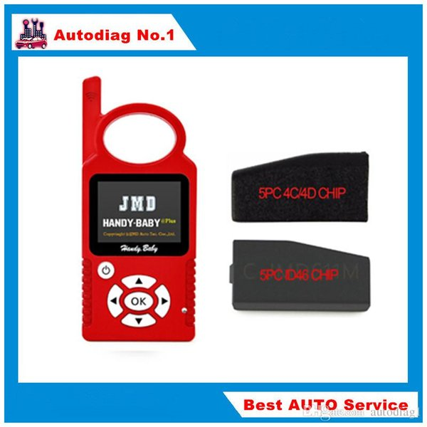 Hot Handy Baby CBAY Hand-held Car Key Copy Auto Key Programmer V7.0 for 4D/46/48 Chips CBAY Chip Programmer Plus 4C/4D ID46 Chip