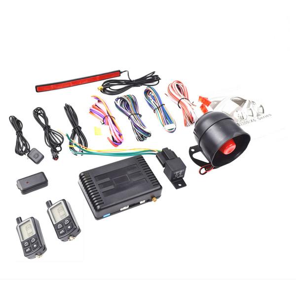 CarBest Vehicle Security Paging Car Alarm 2 Way LCD   Passive Keyless Entry(PKE)   Car Burglar Alarm System - CA-3300A