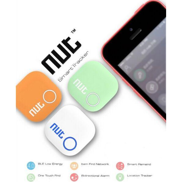 2017 New Arrival Nut 2 Smart Tag Bluetooth Tracker Child Pet Key Finder Locator Alarm for IOS Android 3 Colors Free Shipping