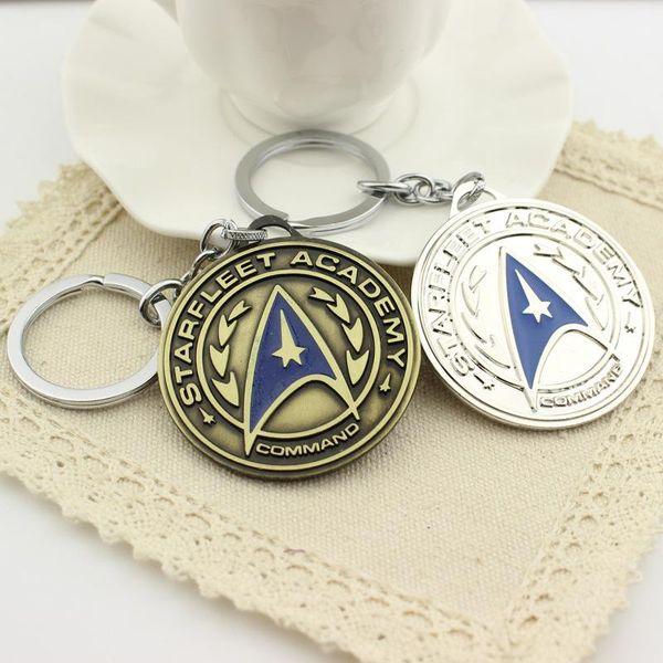 15x Wholesale Star Trek Keyring Pendant Alloy Keychain The Movie Presents Custom Products Fashion Accessories Jewelry Keychain