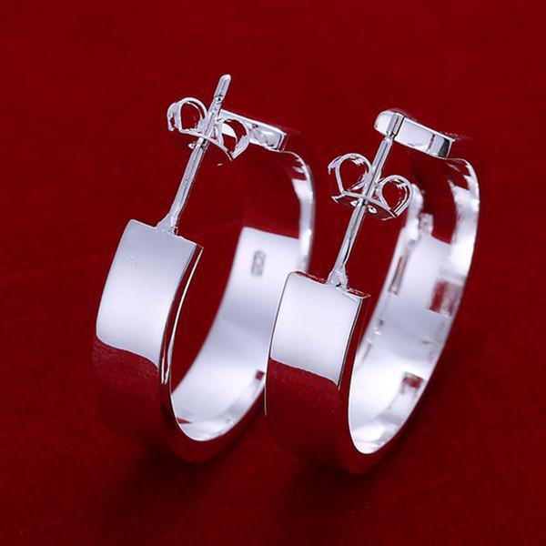 2017 горячие продажи XMAS Оптовая мода стерлингового серебра 925 ювелирные изделия Серьги ,новый штраф 925 серебряные серьги шарма для женщин CE078