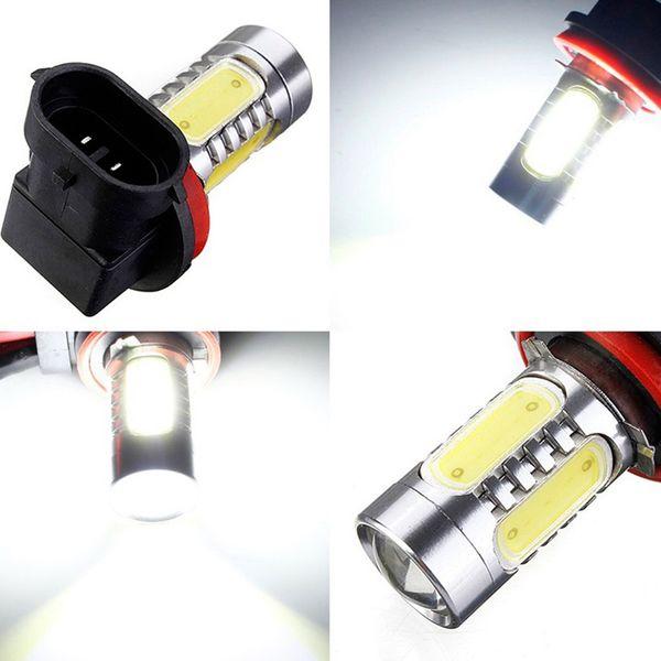1Pc High Power Car-styling Fog Lamp H11 COB LED Bulb Car Auto Light Source Projector DRL Driving Headlight Automobiles Headlamp