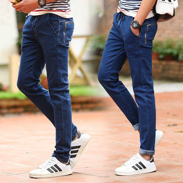 Atacado-New chegada famosa marca italiana mani jeans slim magro para homem calças designer marca 9960