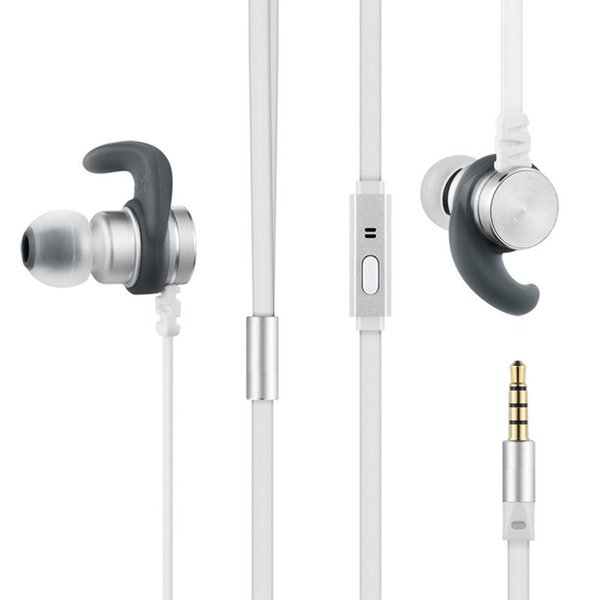 ITSYH Noodle Wired Earphones with microphone 2017 New In-Ear Earbuds Metal Heavy Bass HIFI music earphone iPhone /Xiaomi huawei TW-813