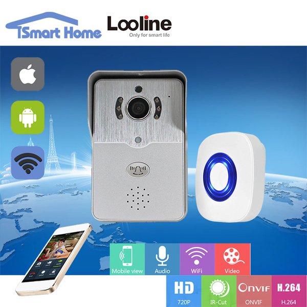 Doorphone Video Door Phone Intercom Wi Fi Doorbell Camera Wireless ...