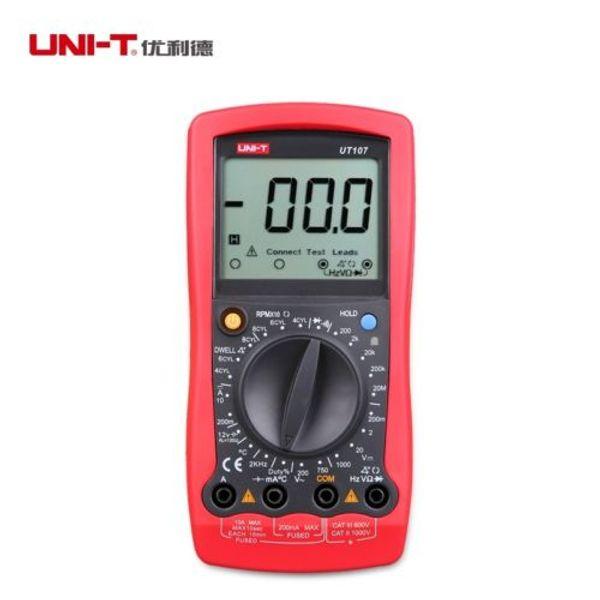 UNI-T UT107 Digital Multimeters Volt Temp Tester Handheld Automotive 2000 Counts