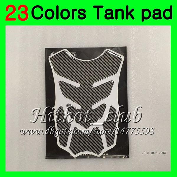 23Colors 3D Carbon Fiber Gas Tank Pad Protector For HONDA CBR1000RR 15 16 17 CBR 1000 RR 1000R CBR1000 RR 2015 2016 2017 3D Tank Cap Sticker