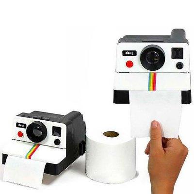 Wholesale- HOT SALES Polaroid Camera Design Tissue Box - AS THE PICTURE