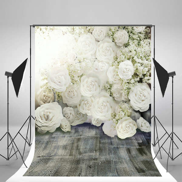 best selling 5x7ft(150x220cm) Wedding Backdrops Flowers Romantic Photography Backgrounds for Photo Studio fond pano de fundo para estudio Fotografia