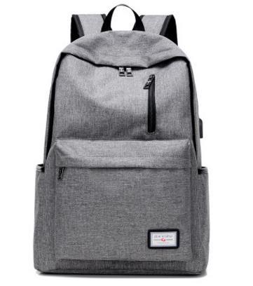 top popular Men's Everyday 2017 Backpack Nylon Teenager School Bag Tech Backpack Women Daypack Rucksack Laptop Bag with USB Charge Port B093 2020