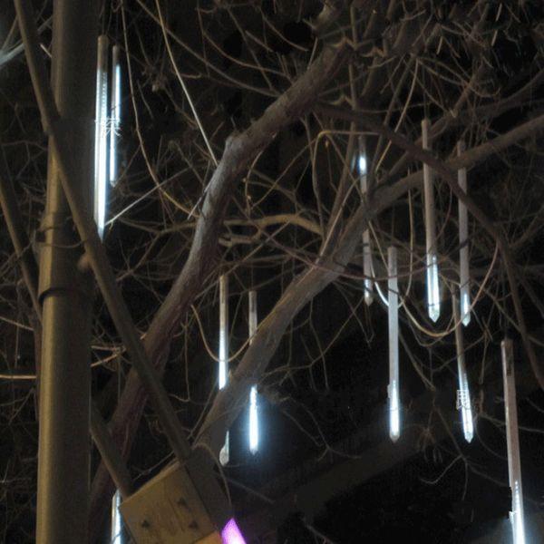 30LED Lichter 60cm / 36LED Lichter 80cm / 48LED Lichter 100cm Meteor Regen Licht Weihnachtsschmuck Licht Fairy Hochzeit Flash LED Lichter