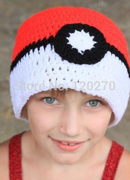 Smile Toddler Girls Boys Baby Winter Cartoon Frog Crochet Knit Hat Beanie Cap