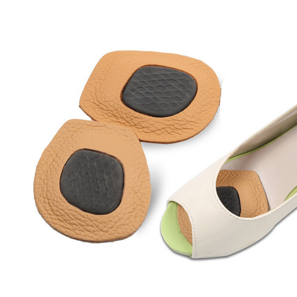 women high heel leather latex massage pad forefoot metatarsal pad ball of foot insole extra comfort anti slip shoes pads