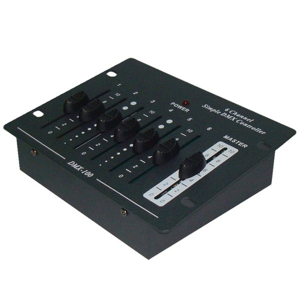Free shipping CE RoHs SGS UL List China High Quality Compact Simple 6 Channel DMX Dimmer Pack