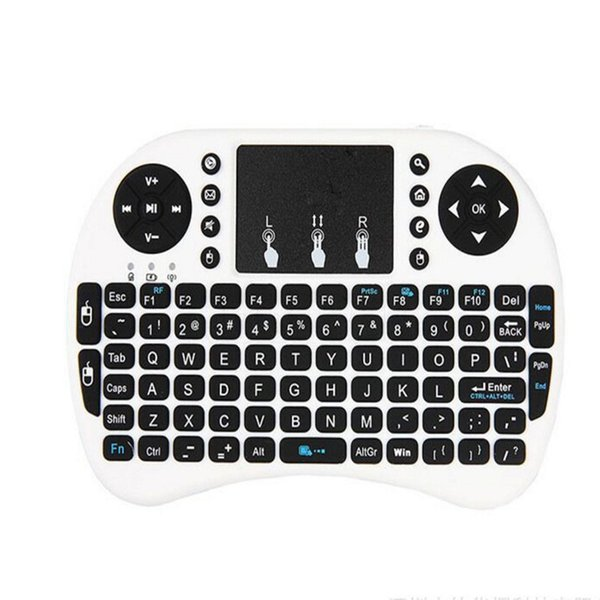 White Wireless Keyboard Backlit 3 color