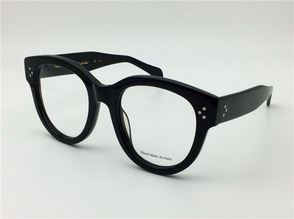 best selling new retro glasses Prescription CE41755 big fashion frame cat eye optical for women full frame top quallity with case italian designer