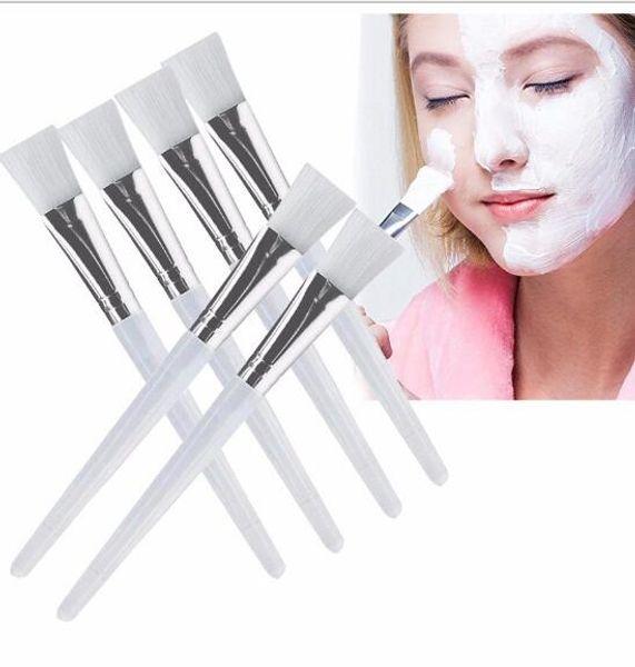 Facial Mask Brush Kit Makeup Brushes Eyes Face Skin Care Masks Applicator Cosmetics Home DIY Facial Eye Mask Use Tools Clear Handle DHL