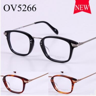 Oliver Peoples Glass frame OV5266 male ladies fashion myopia spectacle frame mirror new flat framework