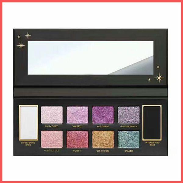 Fabbrica diretta DHL Free New Makeup Eyes Face Glitter Bomb Tavolozza di ombretti PRISMATIC palette palette di colori 10 colori ombretto