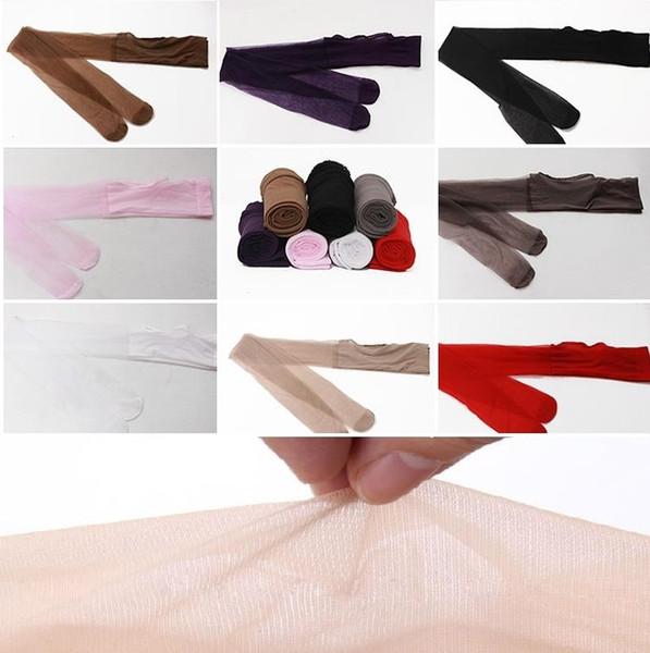 Al por mayor - Nuevas medias de lencería sexy Mujeres Nuevo estilo Mujeres sexy 7 colores Encaje Entrepierna abierta / Medias de medias abiertas 4635